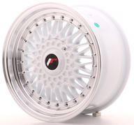 "16"" JAPAN RACING JR9 WHITE"