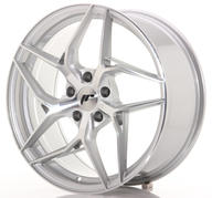 "19"" JAPAN RACING JR35 SILVER MACHINED"