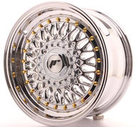 "15"" JAPAN RACING JR9 CHROME"