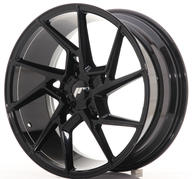 "19"" JAPAN RACING JR33 GLOSSY BLACK"