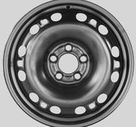 """15"""" KRONPRINZ STEEL STAAL - Black 6x15 - ET43"""