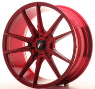 "19"" JAPAN RACING JR21 PLATINUM RED"