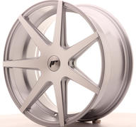 "20"" JAPAN RACING JR20 SILVER MACHINED"