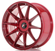 "19"" JAPAN RACING JR11 PLATINUM RED"